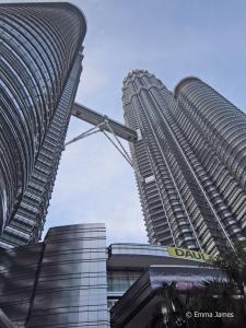 Twin Petronas Towers in Kuala Lumpur