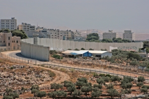 The border between Israel and the West Bank