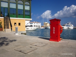The marina of Limassol