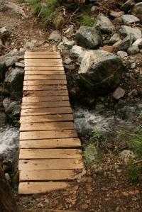 Kaledonia Waterfall trail Troodos Mountains