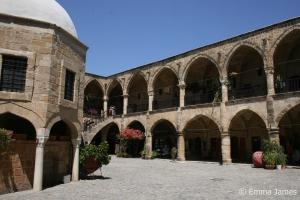 Travel North Cyprus - a caravanserai in Nicosia