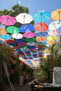 Travel Cyprus - An alley in Nicosia
